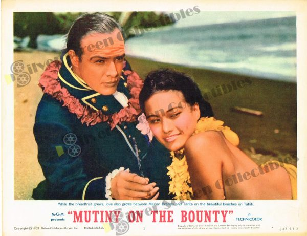 Lobby Card from Mutiny on The Bounty