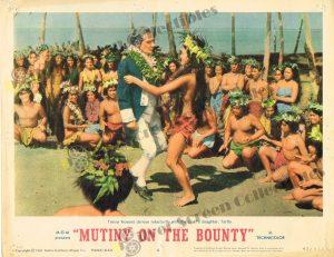 Lobby Card from Mutiny on The Bounty