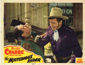 Lobby Card From The Mysterious Rider