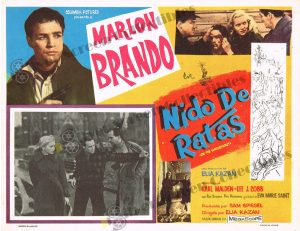 Lobby Card From Nido De Ratas (On the Waterfront)