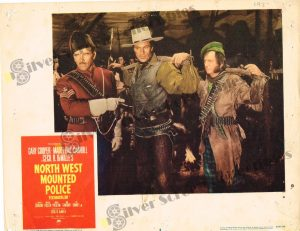 Lobby Card From North West Mounted Police
