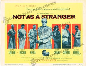 Lobby Card From Not As a Stranger