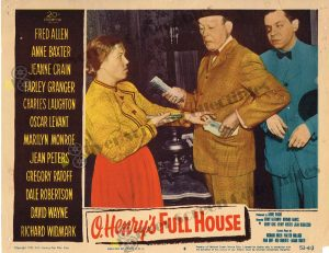 Lobby Card From O. Henry's Full House