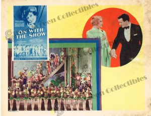 Lobby Card from On With The Show
