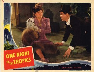Lobby Card From One Night in the Tropics