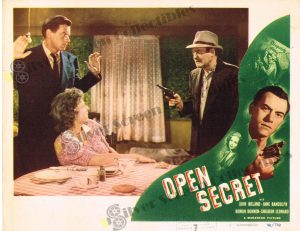 Lobby Card From Open Secret