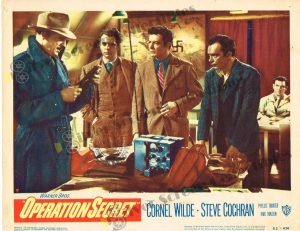 Lobby Card From Operation Secret