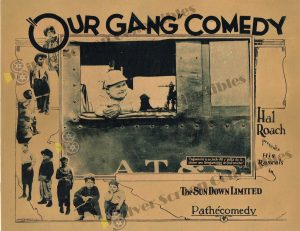 Lobby Card from Our Gang Comedy - The Sun Down Limited