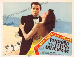 Lobby Card from Pandora and The Flying Dutchman