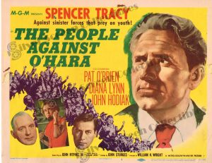 Lobby Card From The People Against O'Hara