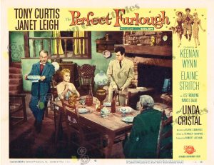 Lobby Card From The Perfect Furlough