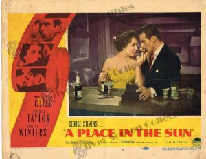 Lobby Card from A Place in the Sun