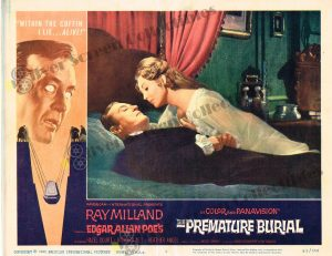 Lobby Card from The Premature Burial