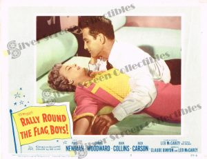 Lobby Card From Rally Round the Flag