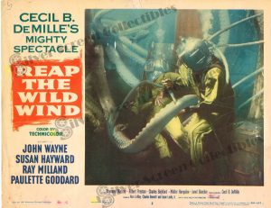 Lobby Card from  Reap the Wild Wind