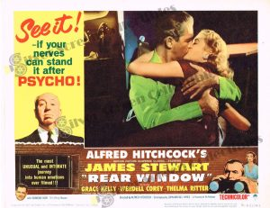 Lobby Card From Rear Window