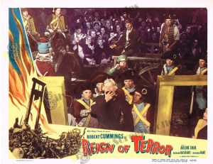 Lobby Card from  Reign of Terror