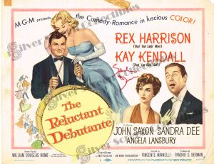 Lobby Card from The Reluctant Debutante