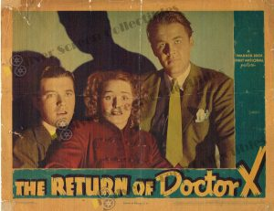 Lobby Card from The Return of Doctor X
