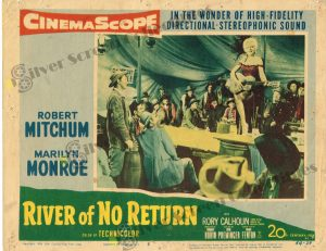 Lobby Card From River of No Return