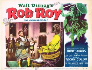 Lobby Card from  Rob Roy