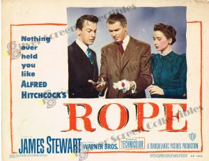 Lobby Card From Rope