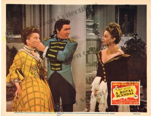 Lobby Card from A Royal Scandal