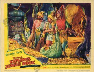 Lobby Card from  Rudyard Kipling's Jungle Book