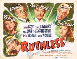 Lobby Card From Ruthless