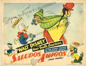Lobby Card from  Saludos Amigos (Hello Friends)