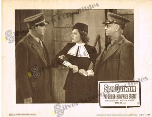 Lobby Card From San Quentin