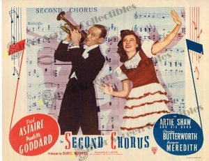 Lobby Card from  Second Chorus