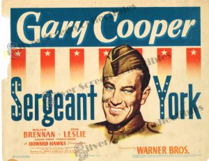 Lobby Card From Sergeant York