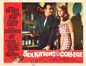 Lobby Card From Sex Kittens Go To College