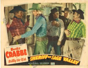 Lobby Card From Sheriff of Sage Valley