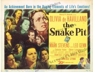 Lobby Card from The Snake Pit