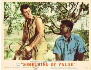 Lobby Card from  Something of Value