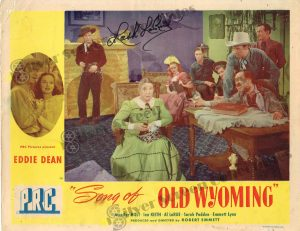 Lobby Card from  Song of Old Wyoming