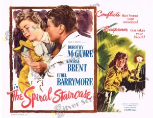 Lobby Card From The Spiral Staircase