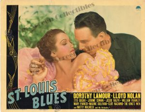 Lobby Card from  St. Louis Blues