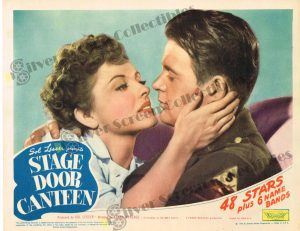 Lobby Card from  Stage Door Canteen