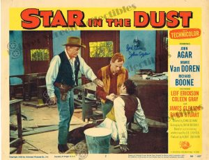 Lobby Card from  Star in the Dust