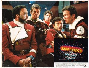 Lobby Card from  Star Trek 2 - The Wrath of Khan