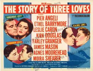 Lobby Card From The Story of Three Loves