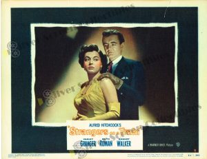 Lobby Card From Strangers on a Train