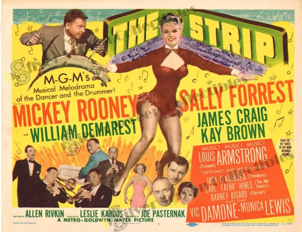 Lobby Card from The Strip