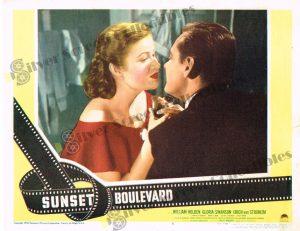 Lobby Card From Sunset Boulevard