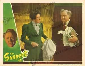 Lobby Card From The Suspect