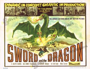 Lobby Card from  Sword and the Dragon