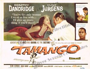 Lobby Card from  Tamango